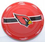 Arizona Cardinals Round Serving Plate Party Tray